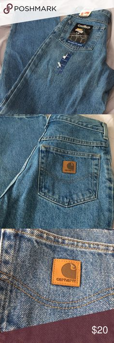 Carhartt Jeans Carhartt relaxed fit jeans size 16 slim brand new still with tags Carhartt Jeans