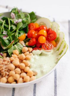 From Couscous to Quinoa, 25 Fresh Lettuce-Free Salads via Brit   Co