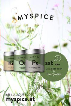 BESTE BIO-QUALITÄT AUCH BEI MYSPICE ...  Kräuter und Gewürze von feinster Bio-Qualität findest du natürlich auch im MYSPICE-Onlineshop. Kräuter, Pfeffer, Chili und auch Rohgewürze stehen für all jene, die Wert auf und bio-kontrollierte Produkte legen, bereit.  •••• myspice.at - AB 1. AUGUST 2020 ••••   #myspice #biokräuter #natriumreduziert #biogewürze #gewürzmischungen #biokräuter #nachhaltig #madeinaustria Travel Mug, Chili, Mugs, Tableware, Pepper, Products, World, Dinnerware, Chile