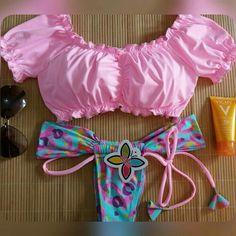 Women Halter Floral Print Bikini Swimsuit Criss Cross Push Up Floral Leaf Two Piece Swimsuit Bathing Suit Swimwear Bathing Suit Skirt, Summer Bathing Suits, Cute Bathing Suits, Pin Up Swimwear, Swimsuits For Tweens, Bikini Bottom Styles, Two Piece Swimsuits, Bikini Fashion, Bikini Set
