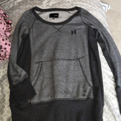 Hurley slouch neck pullover shirt Worn once mint condition - bought from pac sun Hurley Tops Tees - Long Sleeve