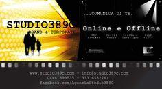 striscioni/ events @studio389c