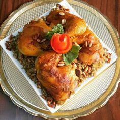 فريكة بالدجاج #chicken #recipe