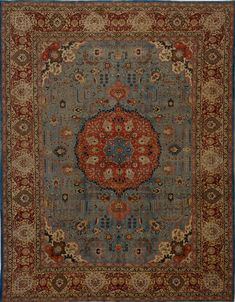 Matt Camron Rugs & Tapestries - Antique Collection - Antique Persian Tabriz Rug - 14058HA