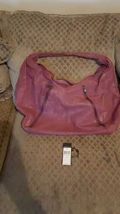Used BCBGMAXAZRIA Hobo In Hollyberry  | Clothing, Shoes & Accessories, Unisex Clothing, Shoes & Accs, Unisex Accessories | eBay!