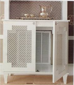 verstoppen verwarming, ..#radiator #covers #warm #snug #home #heating #winter #home #yourhomemagazine