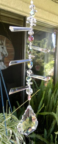 Pure light suncatcher by fairycircledesigns on Etsy, $59.00