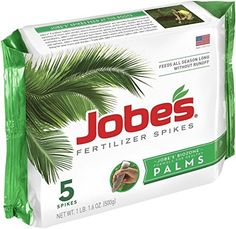 Great for all Palm Tree Fertilizer Food Spikes10510 Outdoor 1 pack of 5 large spikes New -- Visit the image link more details.