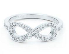 Tiffany's diamond infinity ring