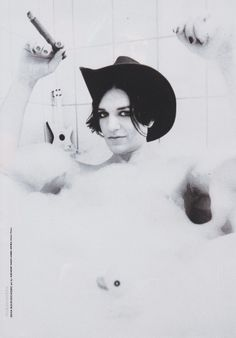 Brian Molko photo by Anthony Saint James