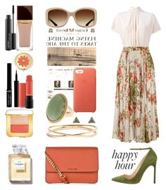 """BG STYLE #27"" by bohemiangirl99 ❤ liked on Polyvore featuring RED Valentino, Gucci, Manolo Blahnik, MICHAEL Michael Kors, Nadri, Nak Armstrong, Apple, Giorgio Armani, Tom Ford and MAC Cosmetics"