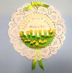 Festa delle donne:biglietti,disegni e lavoretto – Maestramaria Creative Crafts, Diy And Crafts, Crafts For Kids, Carnival, Decorative Plates, Easter, Spring, Birthday, Frame