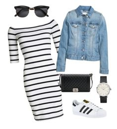 """""""Untitled #402"""" by outfits-by-jahan on Polyvore featuring Superdry, adidas and Chanel"""