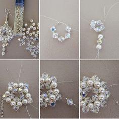 BeadsMadness: Beaded Earrings 3 in 1