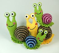 Ravelry: Shelley the Snail pattern by Moji-Moji Design