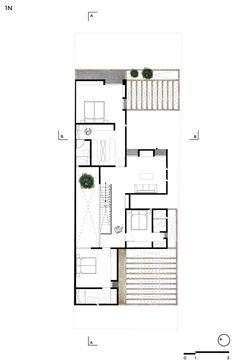 Casa Zirahuén,Planta segundo piso