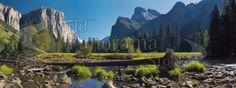Yosemite Valley California, USA Panoramic Images, Yosemite Valley, Photo Library, Stock Photos, Mountains, World, Travel, Viajes, Bergen
