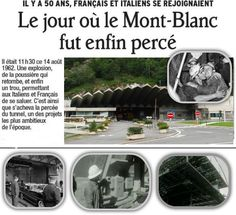 Tunnel du Mont-Blanc Monuments, France, Images, Public, Architecture, Mont Blanc, 50 Years Old, D Day, Arquitetura