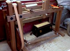 How to Build a Spring Pole and Treadle Lathe   Hand Tool School