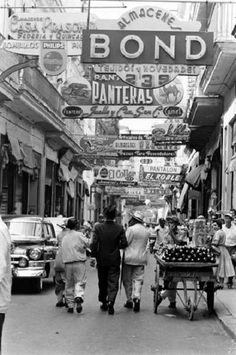 vintage everyday: Vintage Photos of Daily Life in Havana from between 1930s-50s