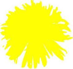 Yellow Dandelion Drawing - Bing images