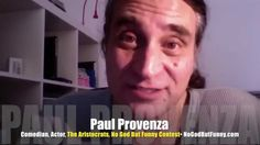 PROMO Comedian Paul Provenza finds Mr. Media depressing!