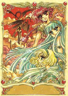 Clamp — Magic Knight Rayearth Plus Manga Creator, Manga Anime, History Of Manga, Magic Knight Rayearth, Another Anime, Manga Artist, Animation, Manga Illustration, Anime Artwork