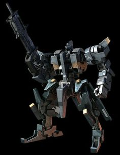 """The Kehei is a wanzer model that first appeared in Front Mission 3 and later in Front Mission Evolved. The wanzer model is produced by Shanghai Steel of the People's Republic of D.H.Z. and is its most profitable product, directly competing with O.C.U.Zenith or the U.S.N. Frost in terms of popularity and usage. It was classified as an """"Advanced Wanzer"""" boasting above average offensive capabilities, prototypes of it were seen on the battlefield during a Japanese coup d'etat in 2112."""