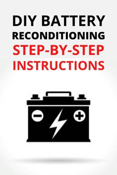EZ Battery Reconditioning | Recondition Your Old Batteries Back To 100% Of Their Working Condition Car Audio Battery, Jump A Car Battery, Ryobi Battery, Battery Tools, Solar Battery, Dual Battery Setup, Lead Acid Battery Charger, Battery Charger Circuit, Cordless Drill Batteries