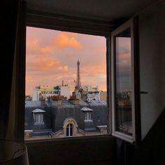 walk the sky; - miraculous aesthetic: Marinette as a Paris. Oh The Places You'll Go, Places To Travel, Travel Destinations, Paris By Night, Little Paris, Belle Villa, Paris Ville, Window View, Travel Aesthetic