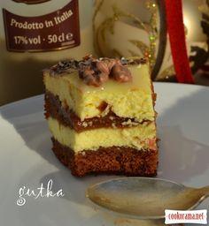 Різдвяний торт з сирним кремом та сливовим варенням / Торти / Кукорама — смачні рецепти!