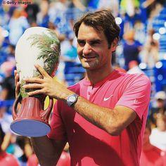 Roger Federer Cincinnati Champion 2015