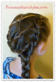 triple knot braided #hairstyle