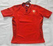 France Soccer Team Red Replica Shirt [B770]