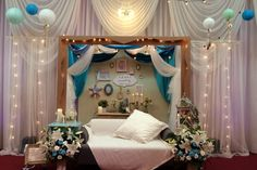 沖縄 ウェディングフォト オリジナルウェディングプロデュース ウェディングデコレーションのNoiva wedding:国頭の海がテーマのデコレーション♪