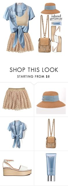 """""""Vacation: Chic Island Getaway"""" by beebeely-look ❤ liked on Polyvore featuring Chloé, Orlane, Guide London, casual, sandals, vacation, islandgetaway and twinkledeals"""