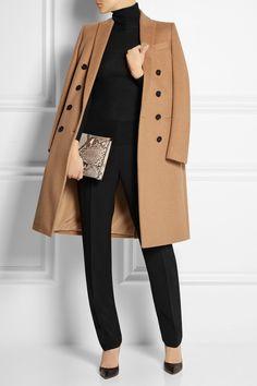 Agnona | Stretch-wool crepe straight-leg pants | NET-A-PORTER.COM