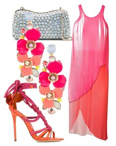 """""""Popsicle pink"""" by alvernacecilia on Polyvore featuring mode, Elie Saab, STELLA McCARTNEY, Accessorize en Brian Atwood"""