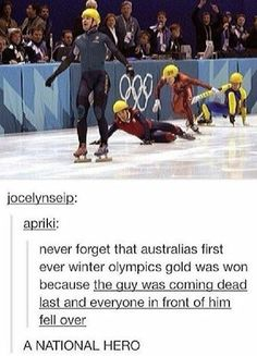 If im ever in the olympics