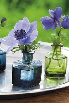 Ink Bottle Vases