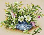 Мобильный LiveInternet Красивые цветы в вышивке | Nina_Oleinikova - Творчество |
