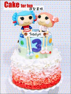 Lalaloopsy Theme Cake - Cake by Helen Chang