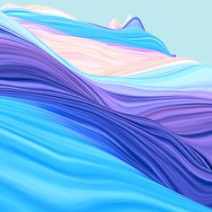 Waves on Behance