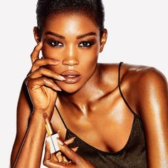 Spring 2014 Color Collection by Tom Ford Beauty at Neiman Marcus. Beauty Make Up, Hair Beauty, Tom Ford Makeup, Tom Ford Beauty, African Models, African Women, Nude Lipstick, Brown Lipstick, Brown Girl