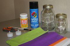 Mason Jar Jack-o-lanterns   My Crafty Spot - When Life Gets Creative