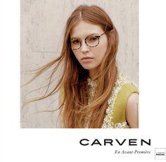 La nouvelle collection de lunettes CARVEN est disponible en avant première  dans les magasins Les Opticiens 3117985e237f