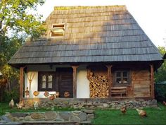 (Blacker - Lungo la via incantata - Adelphi) Cozy Cottage, Cottage Homes, Style At Home, Cabin Design, House Design, Viking House, Fairytale Cottage, Dream Properties, European House
