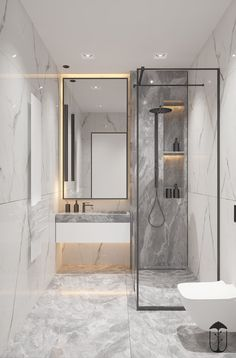 Bathroom decor, Bathroom decoration, Bathroom DIY and Crafts, Bathroom Interior design Bathroom Design Luxury, Bathroom Layout, Modern Bathroom Design, Contemporary Bathrooms, Bathroom Ideas, Bath Design, Washroom Design, Bathroom Organization, Bath Ideas