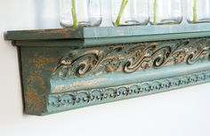 hmmm... could i do this to a shelf i already have?  YES!  Home Décor: Decor Steals - Shabby Chic, Industrial Decor, French Country