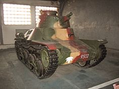 A Type 4 Ke-Nu captured in August 1945 in Manchukuo and displayed at the Kubinka museum